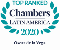 Top Ranked Chambers Latin America 2020