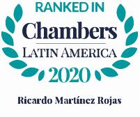 Ranked in Chambers Latin America 2020