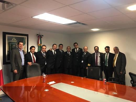 Revisión de Contrato Colectivo de Trabajo con Pilotos de Aeroméxico